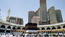 August 9, 2019, Mecca, Mecca, Saudi Arabia: Muslim Pilgrims gather around the Kaaba, Islam's holiest shrine, during the annual hajj pilgrimage at the Grand Mosque in the Saudi city of Mecca, August 09, 2019 (Credit Image: © Ashraf Amra/APA Images via ZUMA Wire |