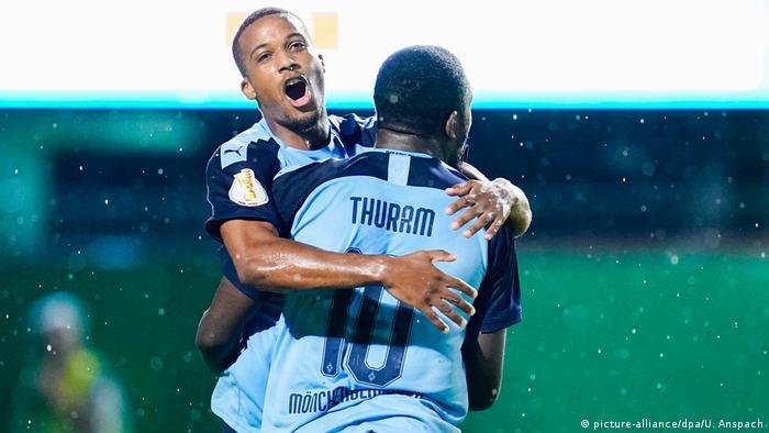 Fußball - 2. Bundesliga - DFB-Pokalspiel SV Sandhausen gegen Borussia Mönchengladbach - Marcus Thuram