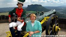 Politiker-Sommerreisen in Deutschland - Merkel Sommertour Königstein