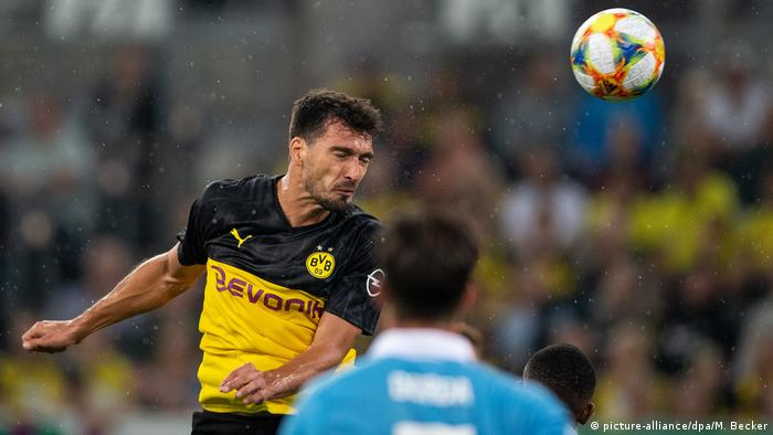 Borussia Dortmund played KFC Uerdingen away in the first round last year