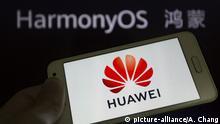 China, Dongguan: Betriebssystem Huawei Harmony