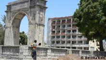 Das alte Zentrum von Mogadischu Bild: Bettina Rühl