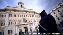 Italien Rom | Palazzo Montecitorio, Sitz der Abgeordnetenkammer