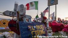 USA El Paso | Trauer nach Anschlag, Flagge Mexiko