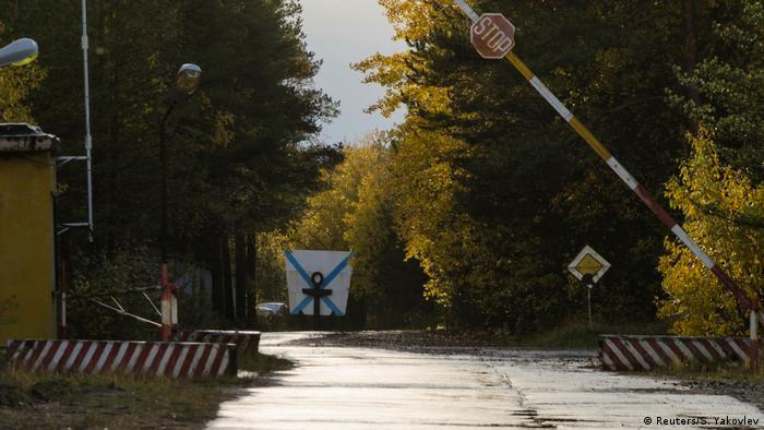 КПП военной базы близ Нёноксы