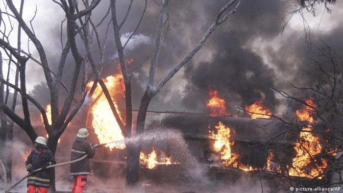 Tansania Morogoro Treibstoff-LKW Explosion