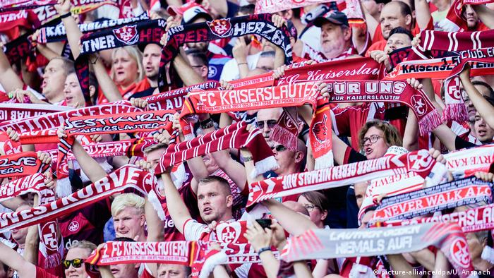 FC Kaiserslautern fans at a better time