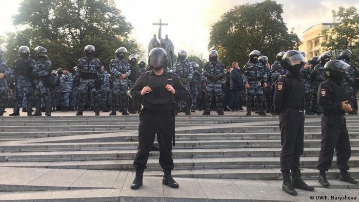 Бійців для придушення бунтів в РФ шукають в інтернеті