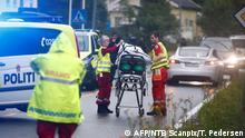 Norwegen Oslo Schießerei in Moschee