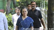 Indien Politikerin Sonia Gandhi