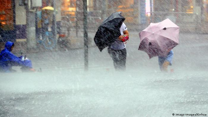 China Taifun Lekima