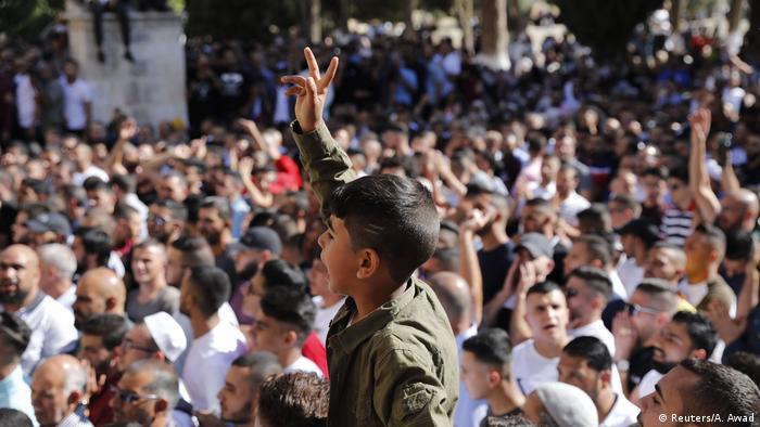 Jerusalem | Unruhen an der Al-Aqsa Moschee
