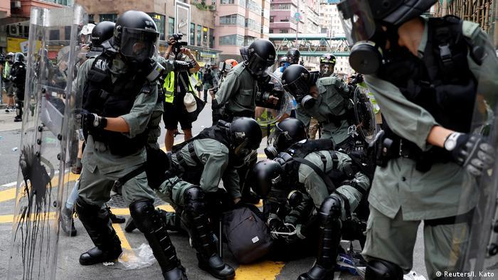 Hongkong Protest gegen China & Auslieferungsgesetz