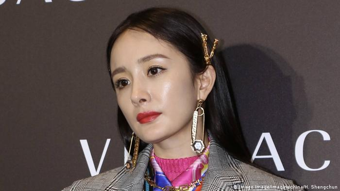 China Peking | Schauspielerin Yang Mi (Imago Image/imaginechina/H. Shengchun)