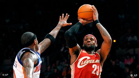 LeBron James Flash-Galerie (AP)