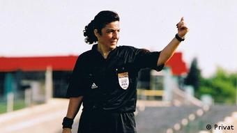 Türkei Fußball-Schiedsrichterin Lale Orta
