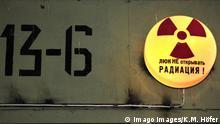 Russland Warnzeichen für Radioaktivität