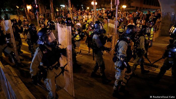 Hongkong Proteste im Viertel Kwai Fong (Reuters/Issai Kato)