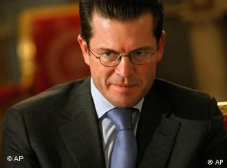 Defense Minister Karl-Theodor zu Guttenberg