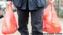 Deutschland Symbolbild Plastiktüte