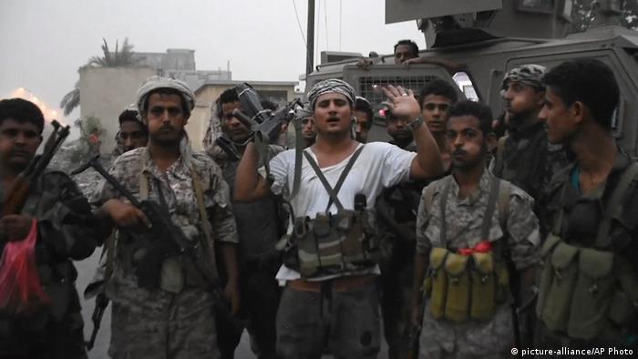 قوات تابعة لـالمجلس الانتقالي الجنوبي سيطرت في شهر أغسطس من العام الماضي على قصر الرئاسة في العاصمة اليمنية المؤقت عدن