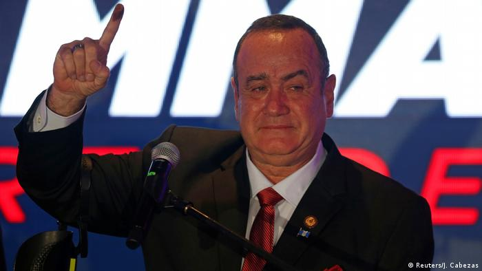 Guatemala Giammattei ruft sich zum Gewinner der Präsidentenwahl aus