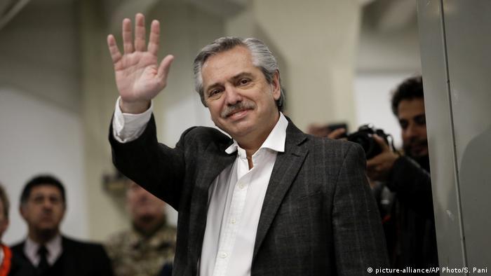 Alberto Fernández, candidato a presidente da Argentina pela Frente de Todos