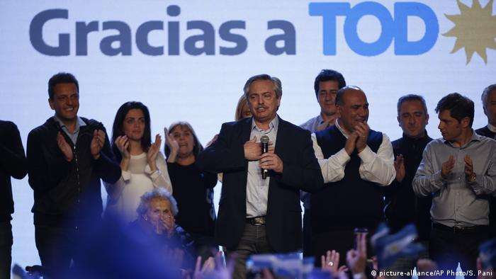 Argentinen Wahlen (picture-alliance/AP Photo/S. Pani)