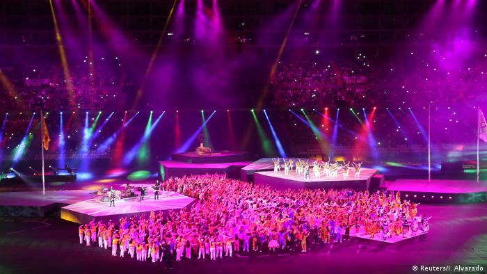 Ceremonia de clausura de los Juegos Panamericanos de Lima 2019.