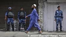 Indien Kaschmir Opferfest