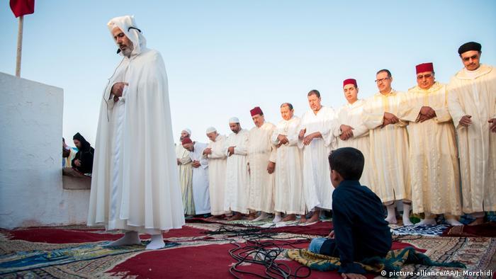 صلاة عيد الاضحى 2017 في مدينة سالي المغربية