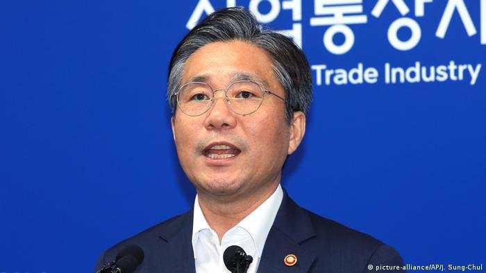 Südkorea: Minister Sung Yun-mo