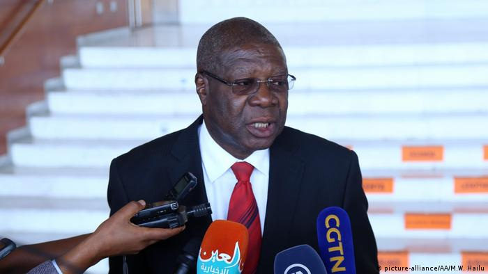 Thomas Kwesi Quartey, deputy chairman of the African Union Commission (picture-alliance/AA/M.W. Hailu)