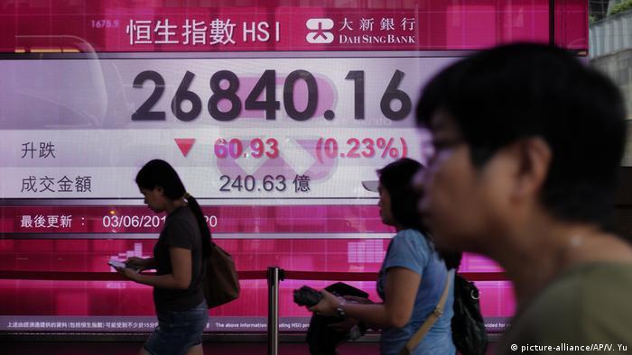 Hong Kong Finanzmarkt - Börse
