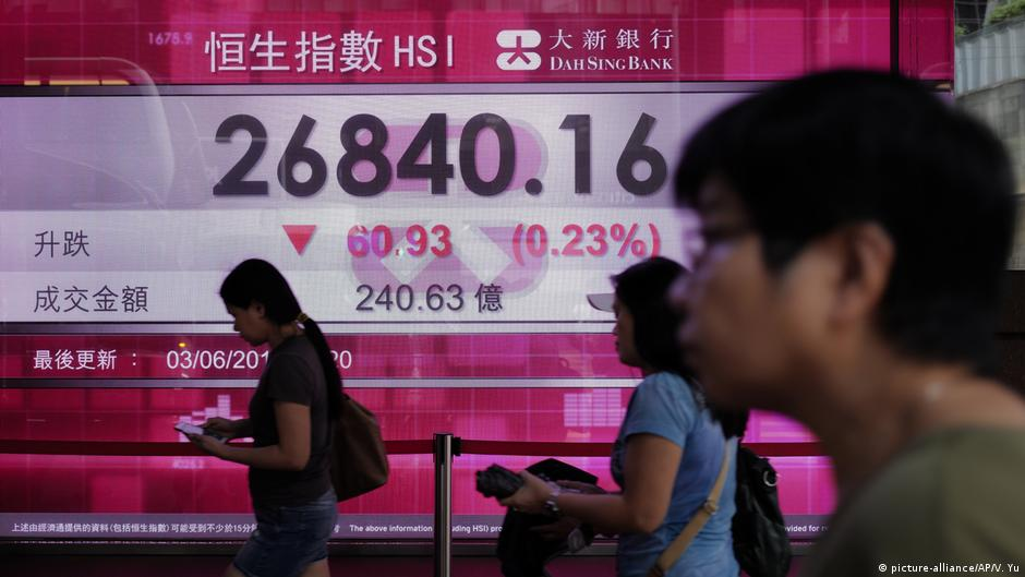 Hong Kong : China - US tensions put Asia ′ s financial hub at risk | Business| Economy and finance news from a German perspective | DW