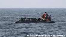 Europa Migraten Flüchtlinge Eritrea
