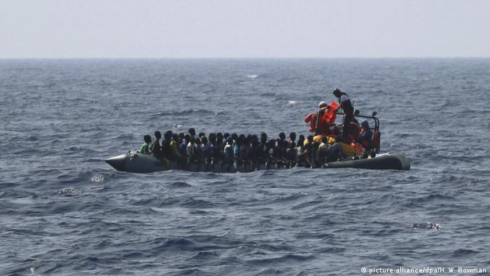 Europa Migraten Flüchtlinge Eritrea (picture-alliance/dpa/H. W. Bowman)