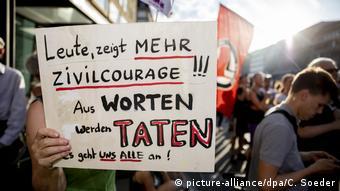 Βερολίνο 2019: Διαδήλωση κατά της ακροδεξιάς βίας