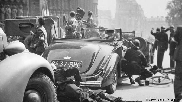 Frankreich, Paris: Befreiung 1944 (Getty Images/Three Lions)