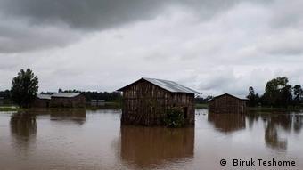 Überflutung inSüd- Gondar ( Biruk Teshome )