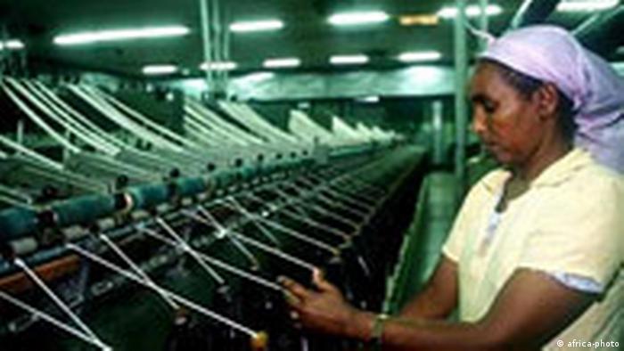 Textilfabrik in Asmara Eritrea (africa-photo)