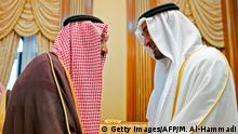 Saudi-Arabien Treffen König Salman bin Abdulaziz mit Scheich Mohammed bin Said Al Nahjan