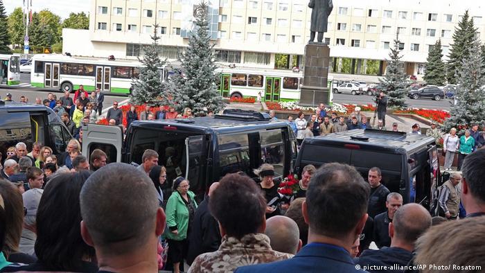 Russland Beisetzung nach Explosion bei Raketentest