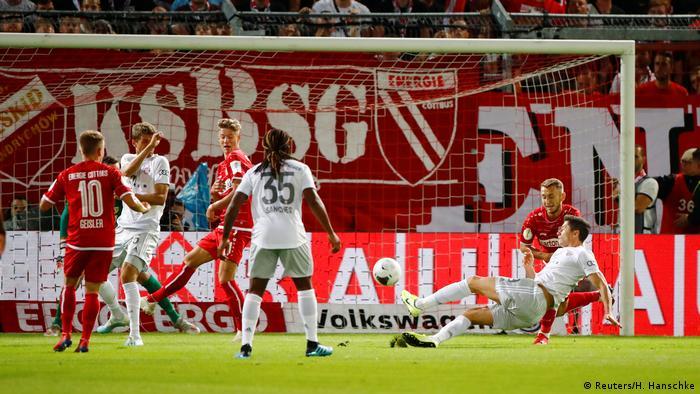 Fußball DFB Pokal FC Bayern - Energie Cotbus