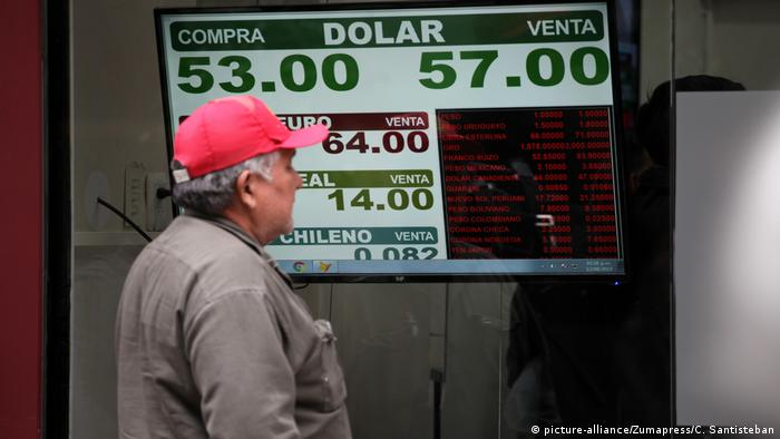 Images of the financial district in Buenos Aires