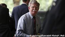 England Nationaler US-Sicherheitsberater John Bolton zu Besuch in London