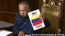 Venezuela Konflikte Diosdado Cabello