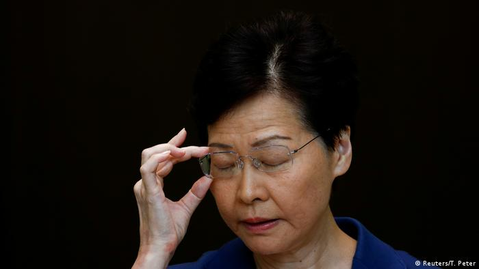 Hongkong PK Carrie Lam (Reuters/T. Peter)