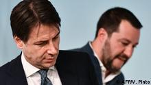 Italien Regierungskoalition vor dem Aus