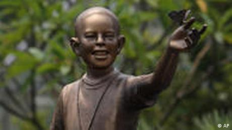 Indonesien Obama Statue